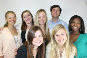 That's me in the center with our summer 2012 intern class.